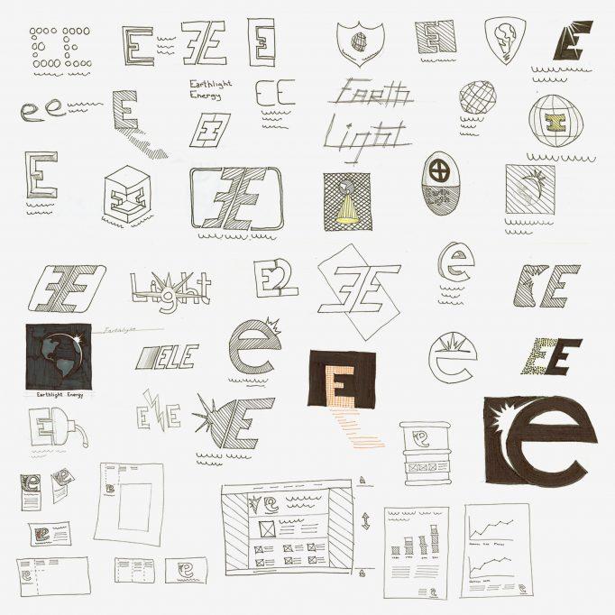 Earthlight logo thumbails