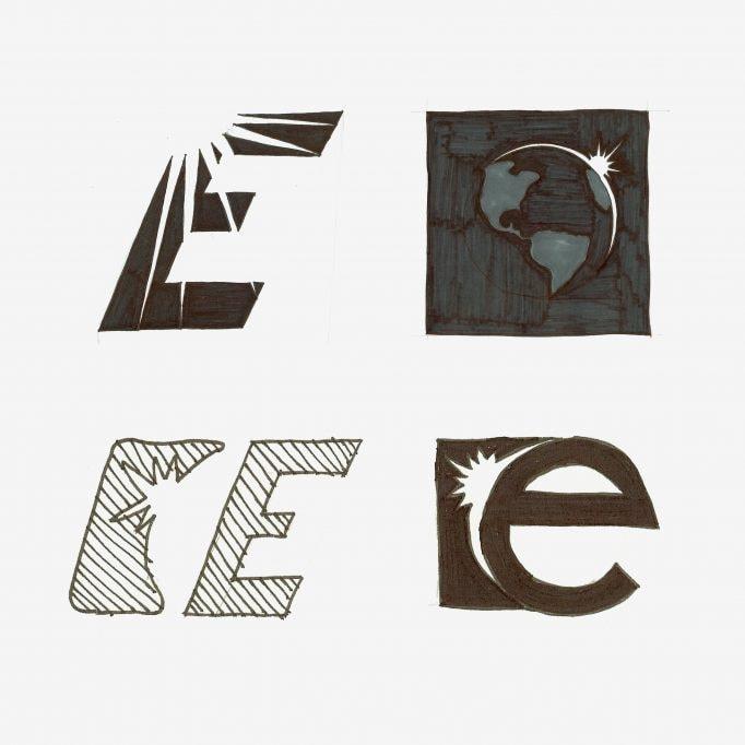 Earthlight logo concepts